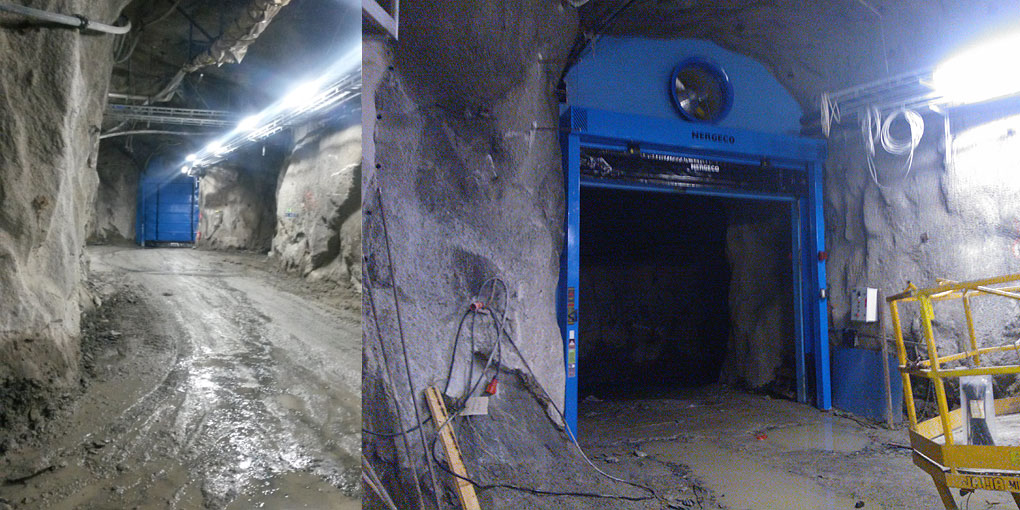 High Speed Doors For The Mining Industry