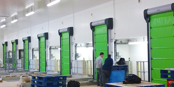 Each high-speed Nergeco door is specially designed to meet the specific needs of every business