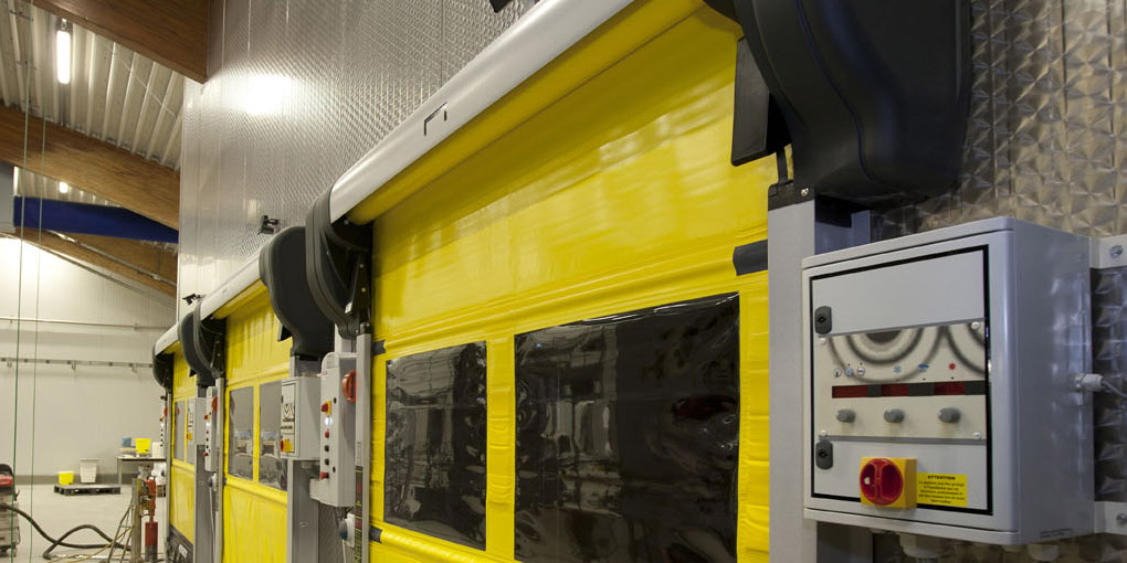 Fully pressure-washable rapid doors for the food processing industry & Rapid doors for the food industry