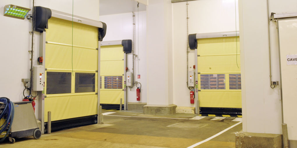 High speed doors more resistent to corrosion than stainless steel
