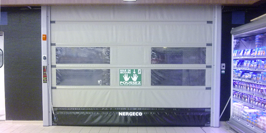 High Speed Emergency Exit Door With Multi Composite Frame. U2039 U203a
